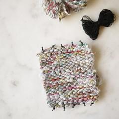 Coaster yarns set-fabric