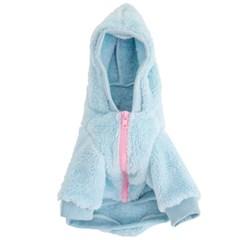 Cotton Candy Zip-up Fleece - Babyblue