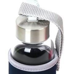 휴대용 내열유리물병+휴대케이스 300ml