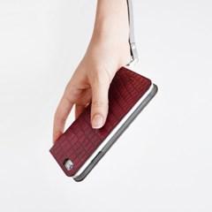 iPhone6/6S folio case - Croco