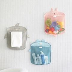 코니테일 욕실정리망 - 샤크 (욕실그물망, 장난감정리망)