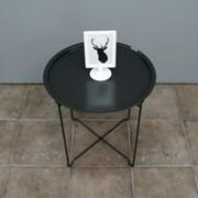 소프시스 메탈 라운드 테이블 460