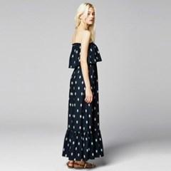 [sweet180] OFF-SHOULDER MAXI DRESS (2colors)