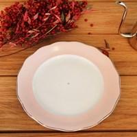 알라스카 핑크골드 접시大 2pcs
