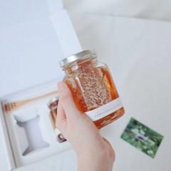 당산나무벌꿀 벌집꿀 2종 선물세트