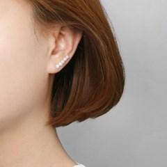 [925 실버]라인 담수진주 귀걸이=ER278