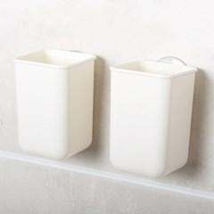 슬림 욕실선반 수납통 2P [1007]