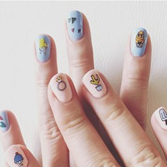 PP NAIL STICKER - ICECREAM