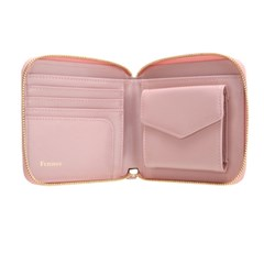 Fennec Zipper Wallet 014 Light Pink