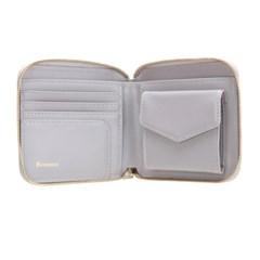 [골드바증정]Fennec Zipper Wallet - Light Grey