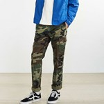 [ROTHCO] VINTAGE FLAT FRONT CARGO PANTS (WOODLAND CAMO)