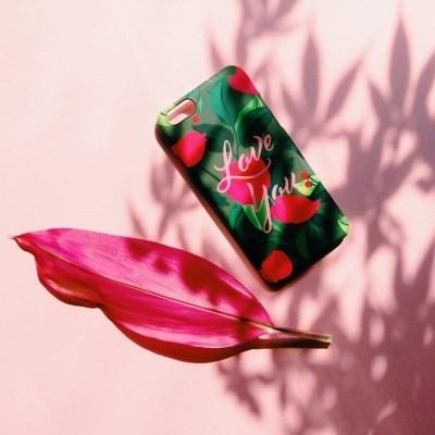 Carnation Love 하드/범퍼/카드 케이스 [플래네틸]