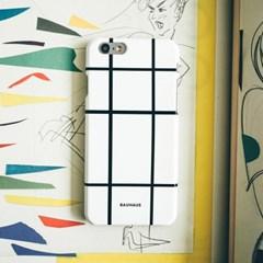 BAUHAUS phone case - white