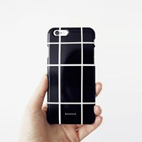BAUHAUS phone case - black