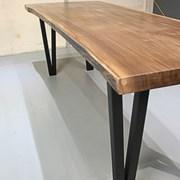 북미산 월넛 우드슬랩 014_North America Walnut Wood Table 014