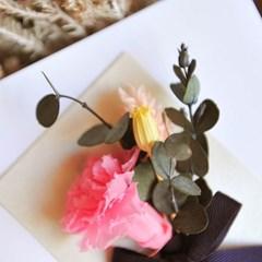 프리저브드 카네이션 카드 [핑크]