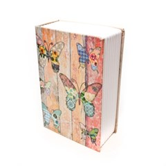 빈티지 나비 책 비밀금고