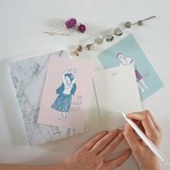 훌라처녀 딩가총각 _postcard