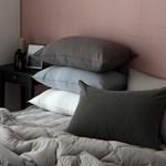 내추럴코튼 피그먼트 베개커버 (11color)