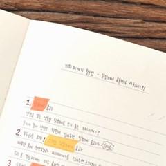 왈가닥스 네온 마스킹테이프 - 133 Neon Orange