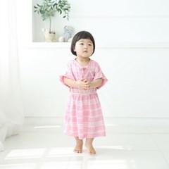 [풍기인견 평직]제이니 핑크 원피스