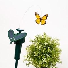 태양열 자동회전 나비 벌레퇴치기