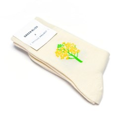 [Organic cotton] EPITONE PROJECT Rape Flower