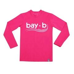[bay-b] 유아래쉬가드 베이직 핑크