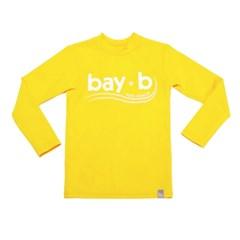 [bay-b] 유아래쉬가드 베이직 옐로