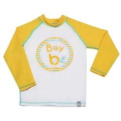 [bay-b] 유아래쉬가드 베이스볼 옐로