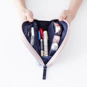 [텐바이텐 단독] HALF MAKE-UP POUCH _ SOFT TONE