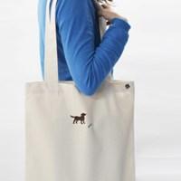 doggy cotton bag