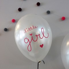 balloon-Little Girl(6pcs)