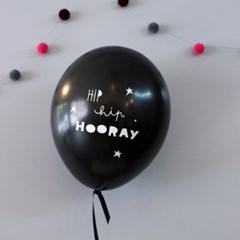 balloon-Hip hip hooray(6pcs)