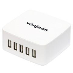 본젠 VCC-800 고속 USB 5포트 멀티 충전기 - 스마트폰 태블릿 등
