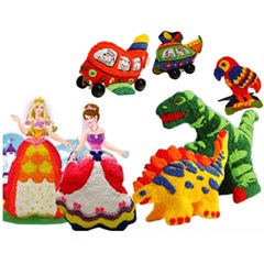 컬러룬 볼클레이 입체 공주풍선만들기 2종세트 어린이날선물