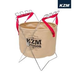 카즈미 캠핑 씽크볼 27L K4T3K002 / 캠핑설거지통 캠핑설거지망