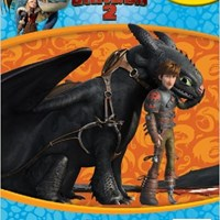 DREAMWORKS HOW TO TRAIN YOUR DRAGONS 2 : MY BUSY BOOKS