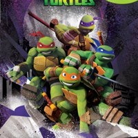 TEENAGE MUTANT NINJA TURTLES MY BUSY BOOK