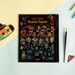 스크래치 컬러링 무지_Scratch Coloring Blank Paper