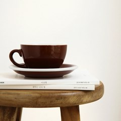 [ACME] CAPPUCCINO CUP_BROWN