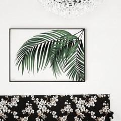 메탈 보테니컬 식물 인테리어 포스터 액자 파라다이스