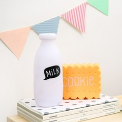 mini milk lamp