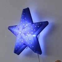 [LAMPDA]LED형 별모양 벽등(블루)