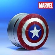 마블 캡틴아메리카 블루투스 스피커 보조배터리