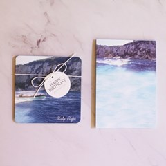 ICIEL photo memo pad -capri