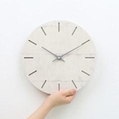 [각인 주문제작]콘크리트 무소음 모던 벽시계 라인