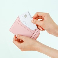 mini wallet - 007 Light Pink