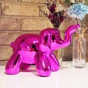 Balloon Elephant MoneyBox Pink