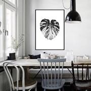 몬스테라액자 식물 보타니컬 나뭇잎 그림 거실 인테리어